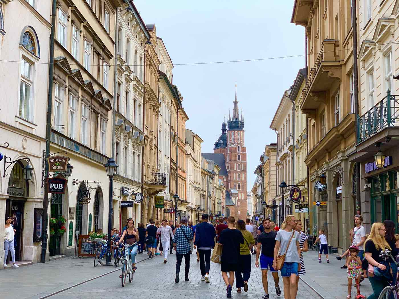 europe travel tips krakow poland