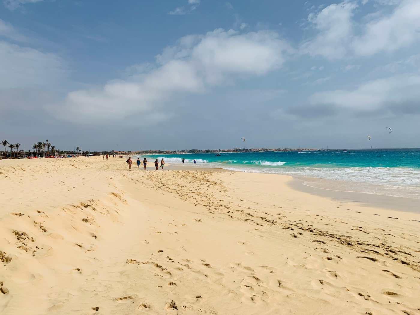 sal cape verde santa maria beach sand