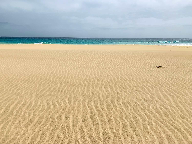 sal cape verde santa maria beach