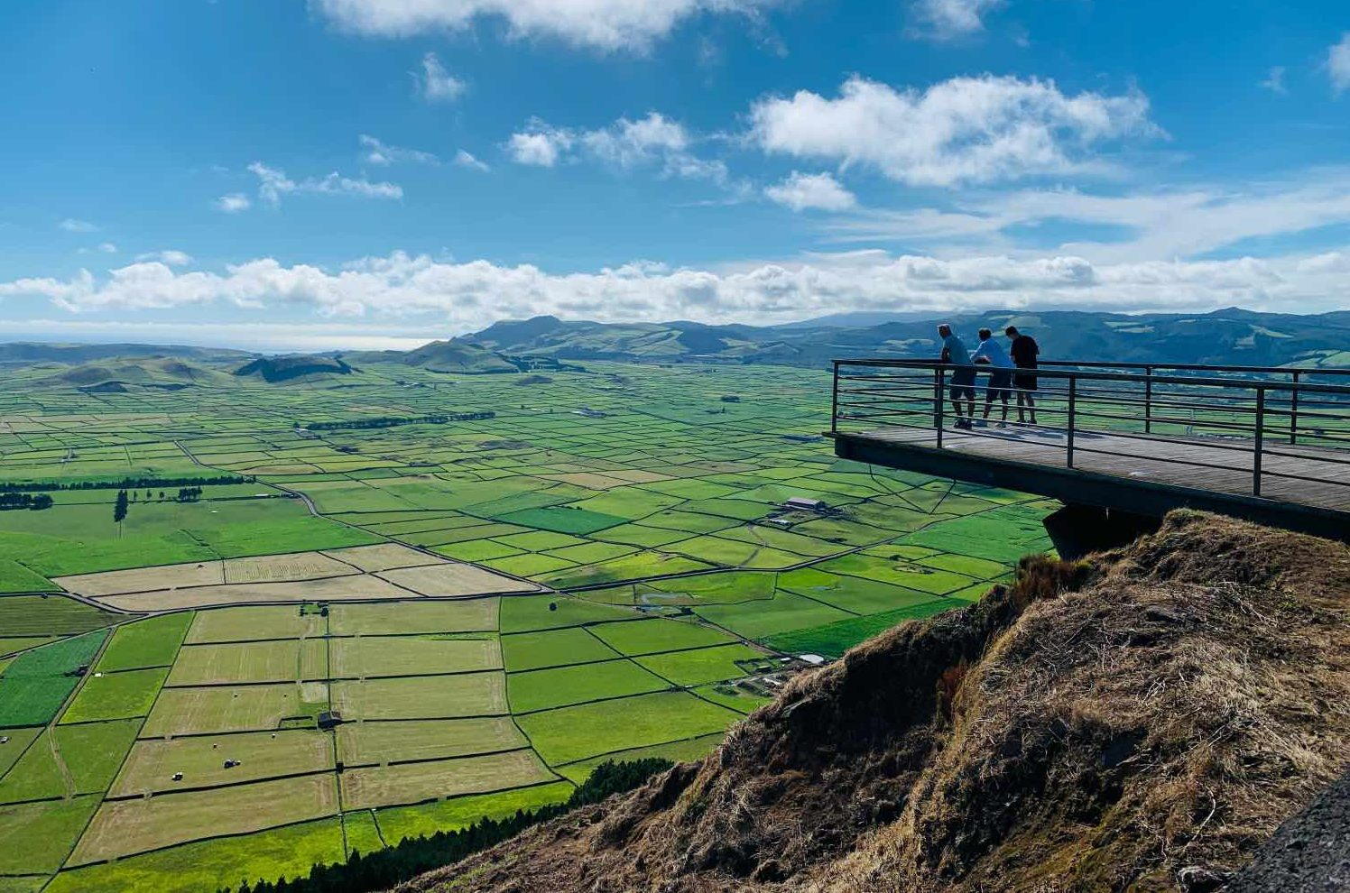 terceira island azores serra do cume viewpoint