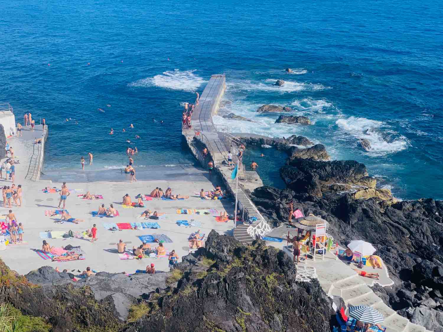 terceira island swimming natural pool