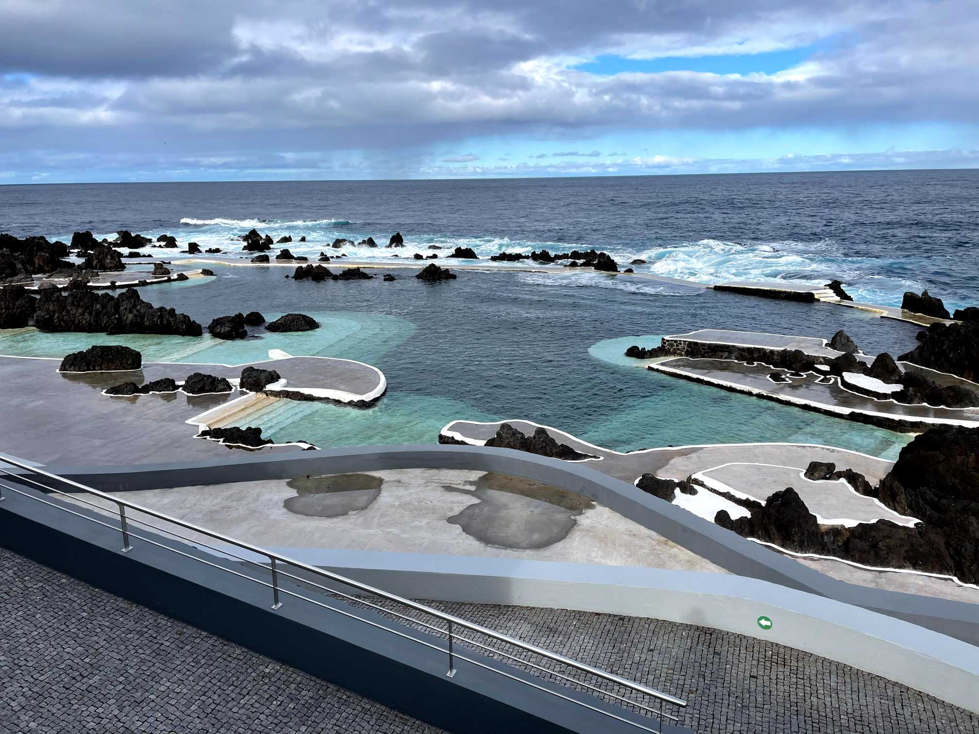 madeira island porto moniz lava pools