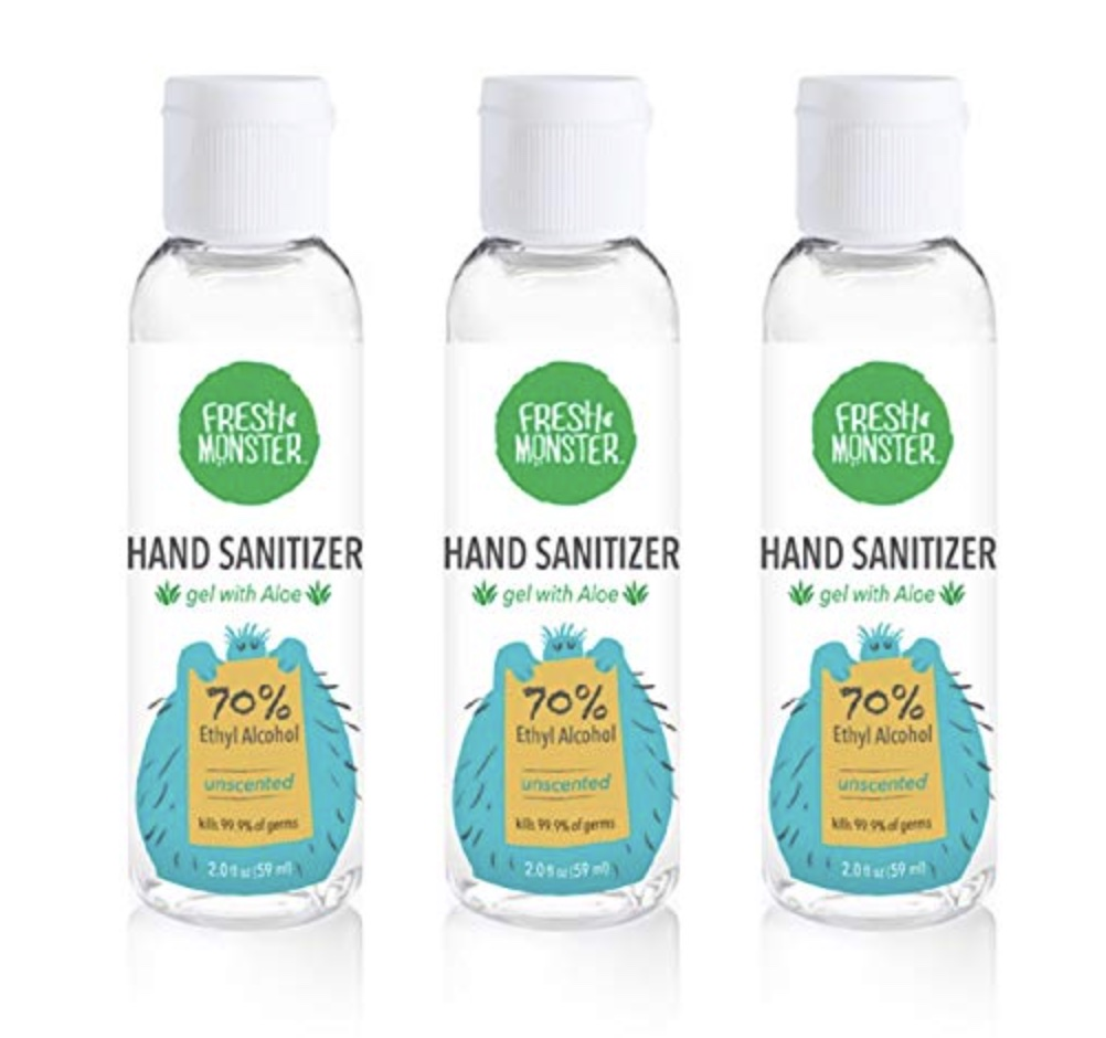 what to pack southeast asia hand sanitizer gel