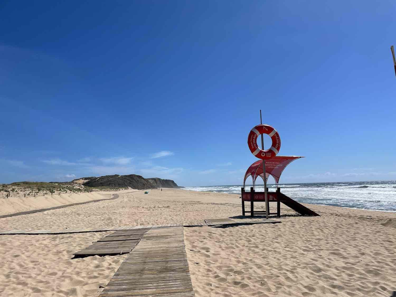 Santa Rita beach near Lisbon