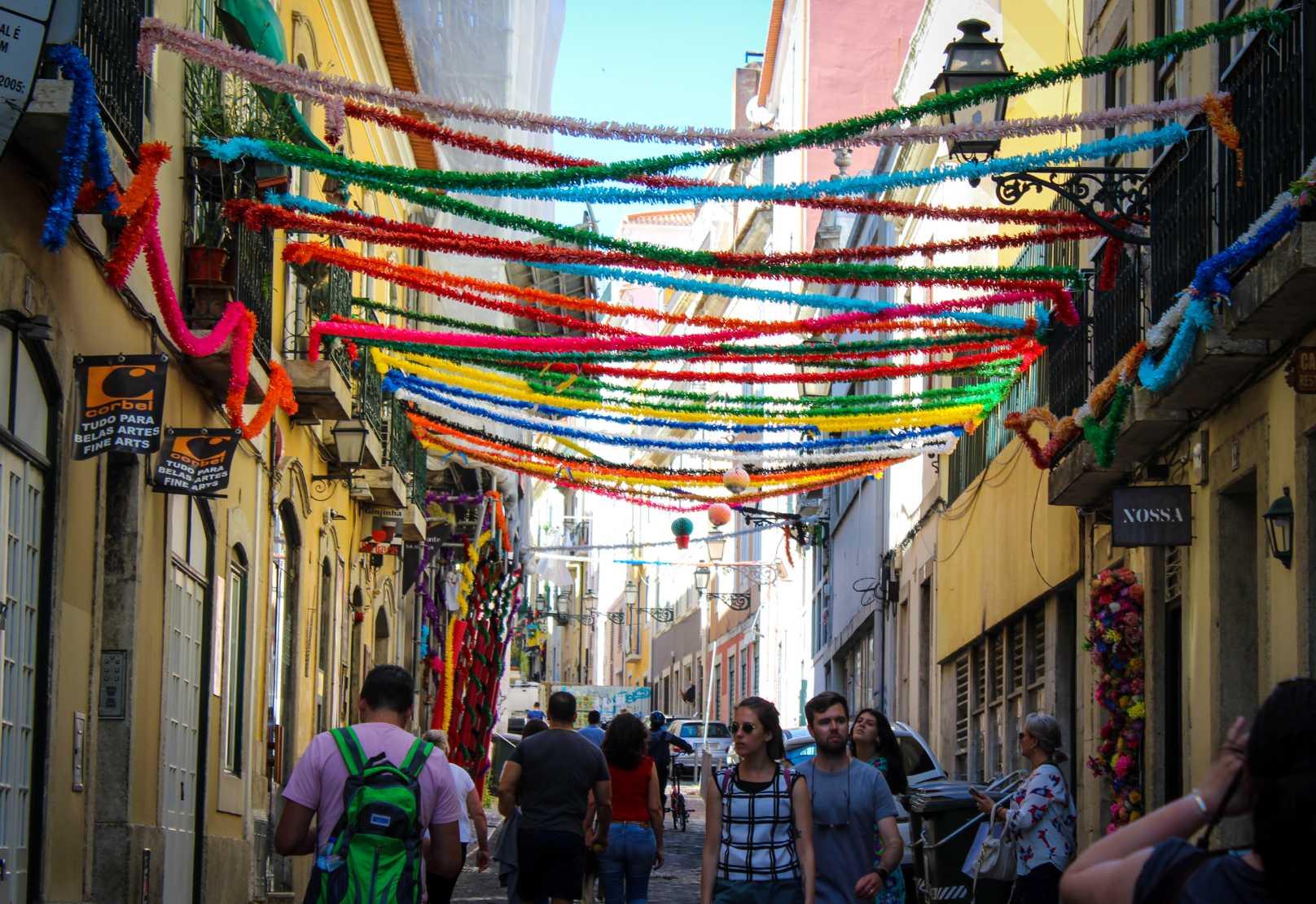santos lisboa streets